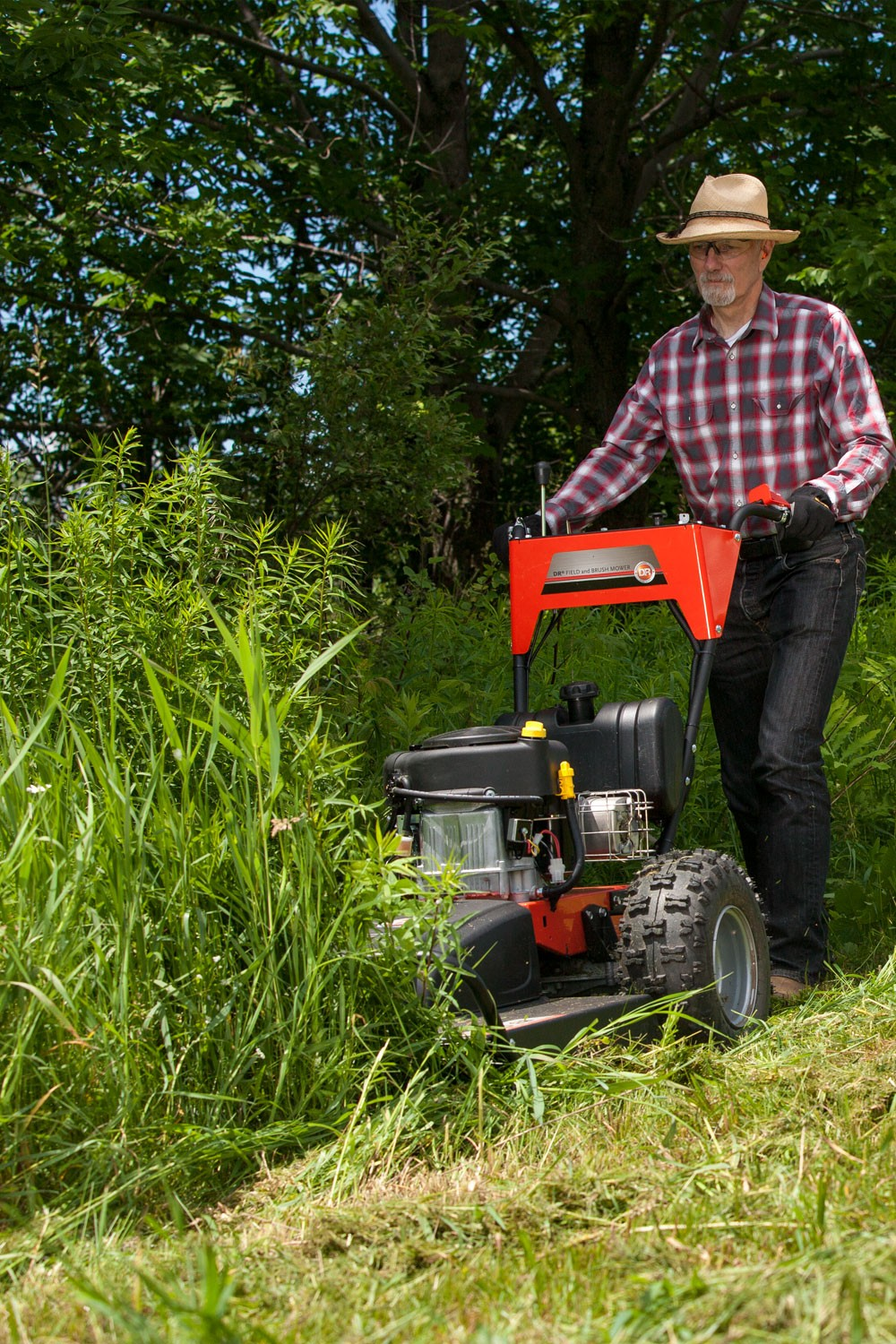 DR PRO XL-30 walk behind field and brush mower