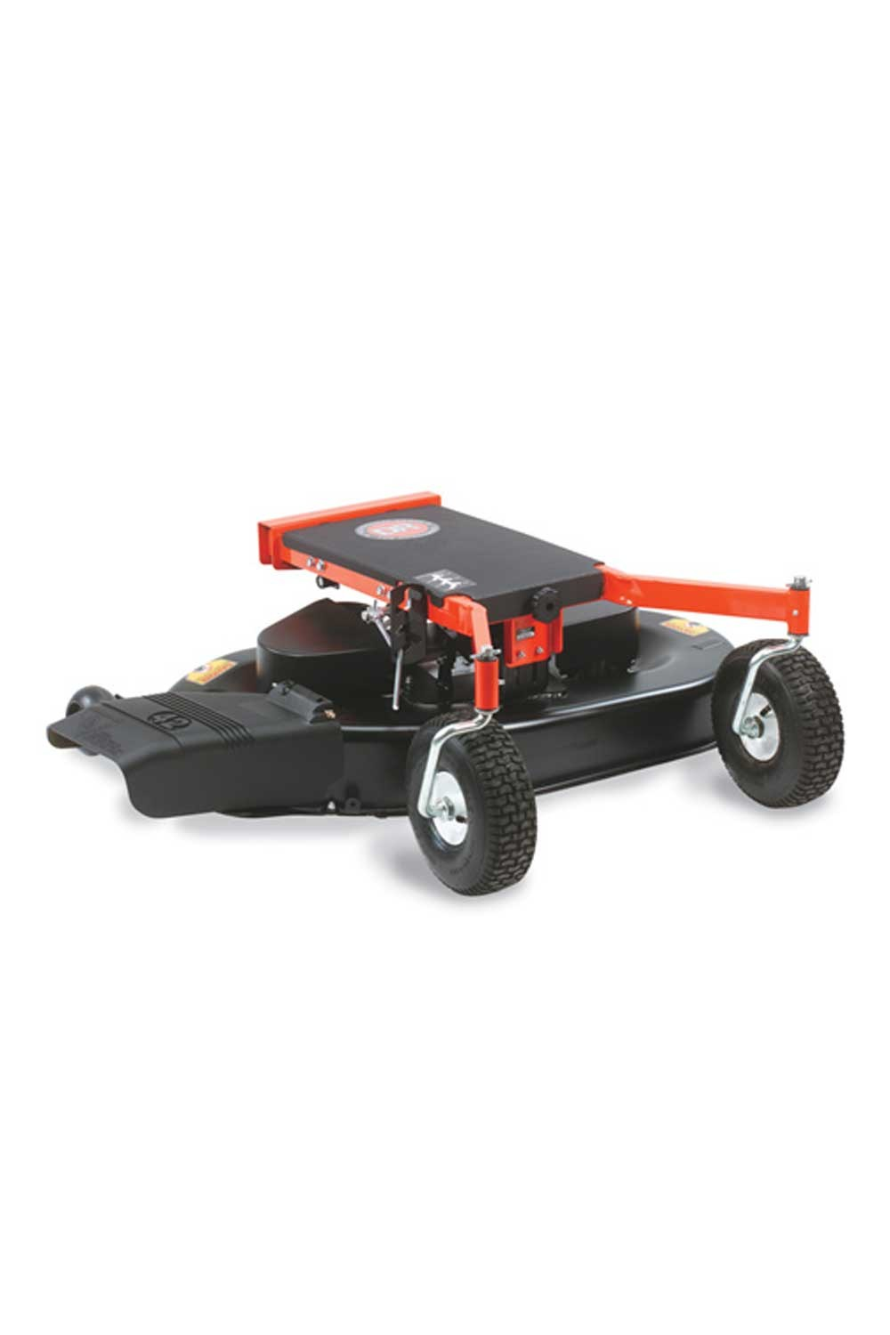 DR lawn mower attachment for field & brush mower
