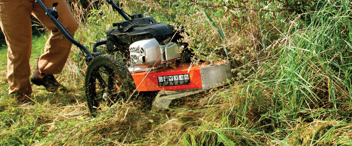 Powerful DR Wheeled Trimmer Mower